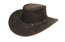 Relags Chapeau cuir wilsons marron